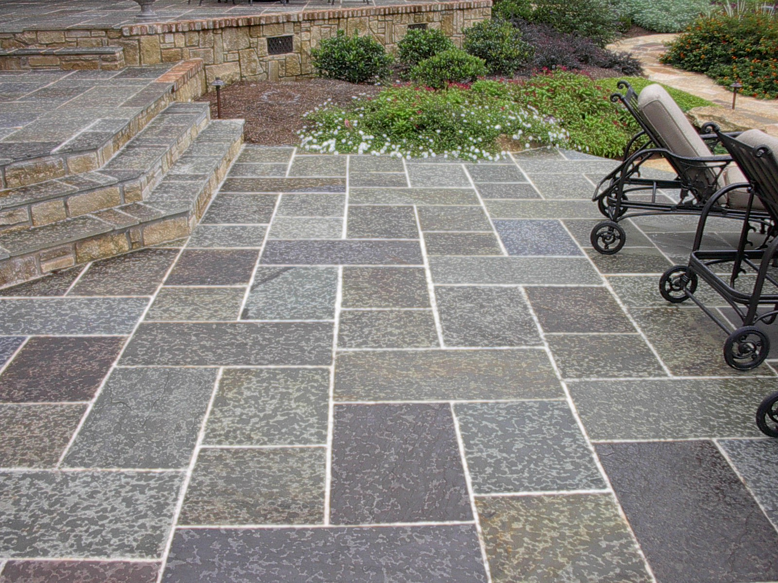 Stamped Concrete Home : Stamped concrete solutions for tulsa unique renovations